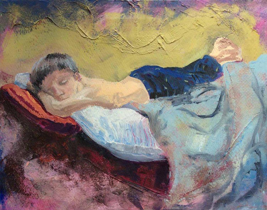 Levi Sleeping sm