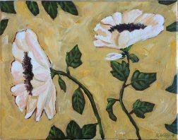 White Flowers - $25