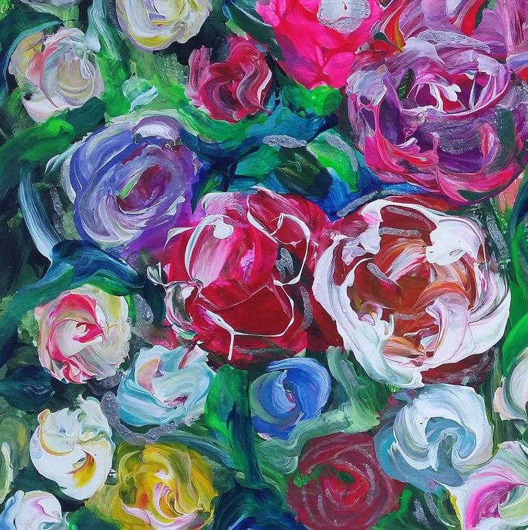 bowl of roses1